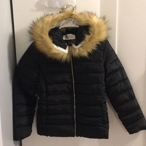 YINGAOXUEFEI QUILTED HOODED JACKET